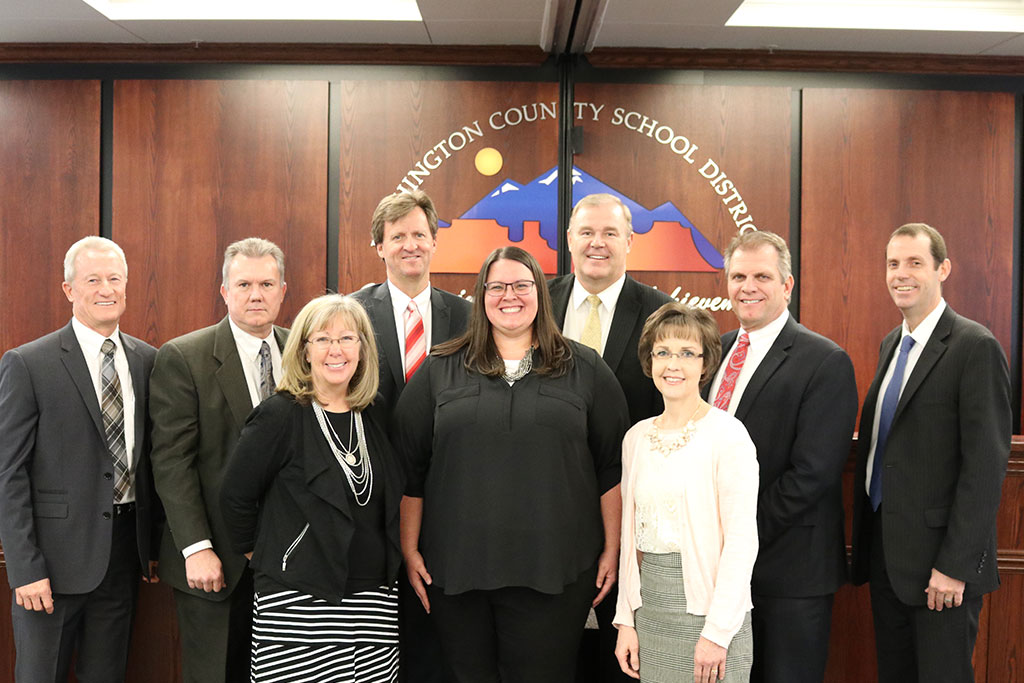 Photo of the WCSD Board of Education